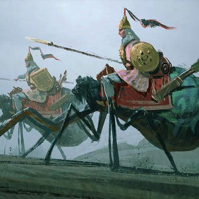 Spider Cavalry
