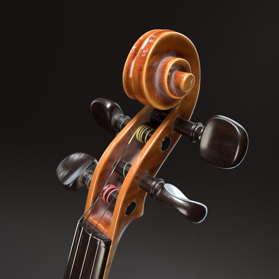 Gustav berg pedersen violinstudio scroll01