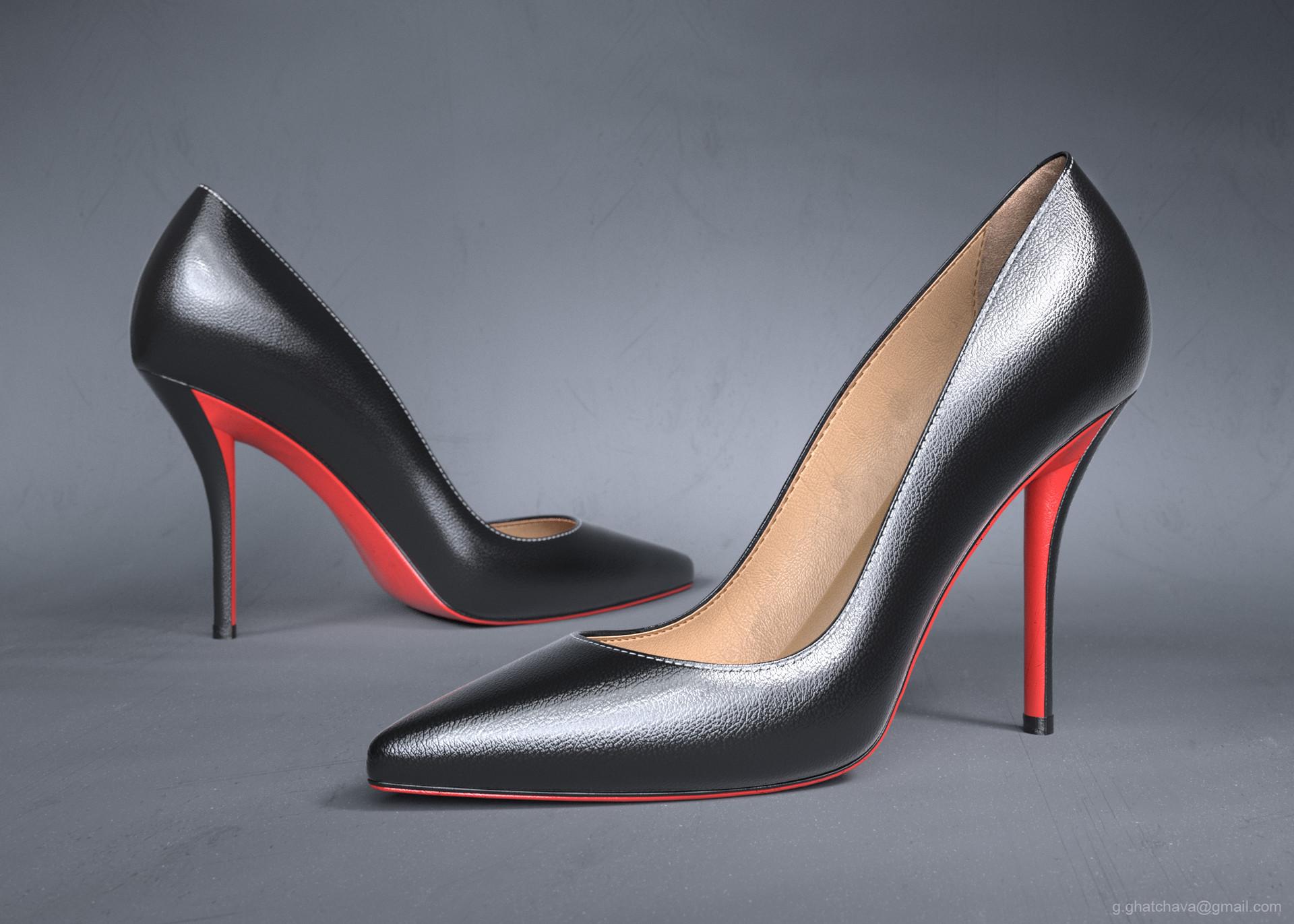 ArtStation Shoe for Women, Gabo Gatchava