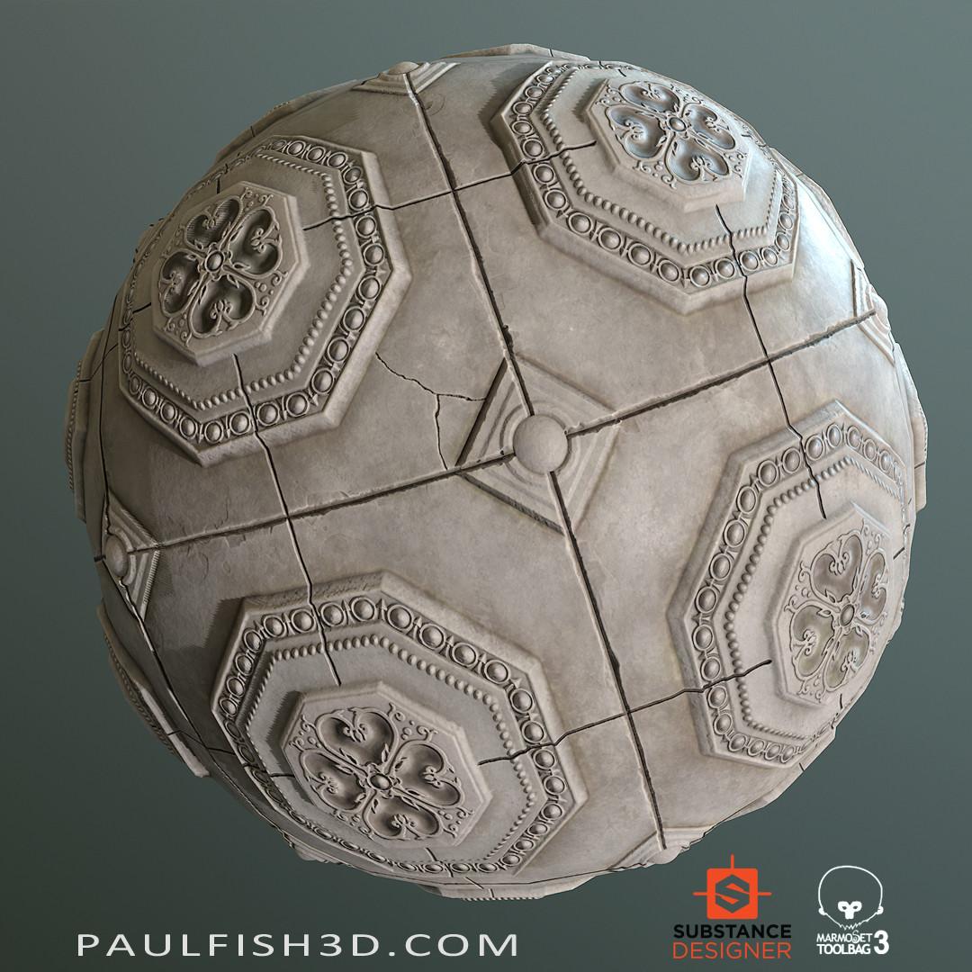 Paul fish stonetile ornamental 01