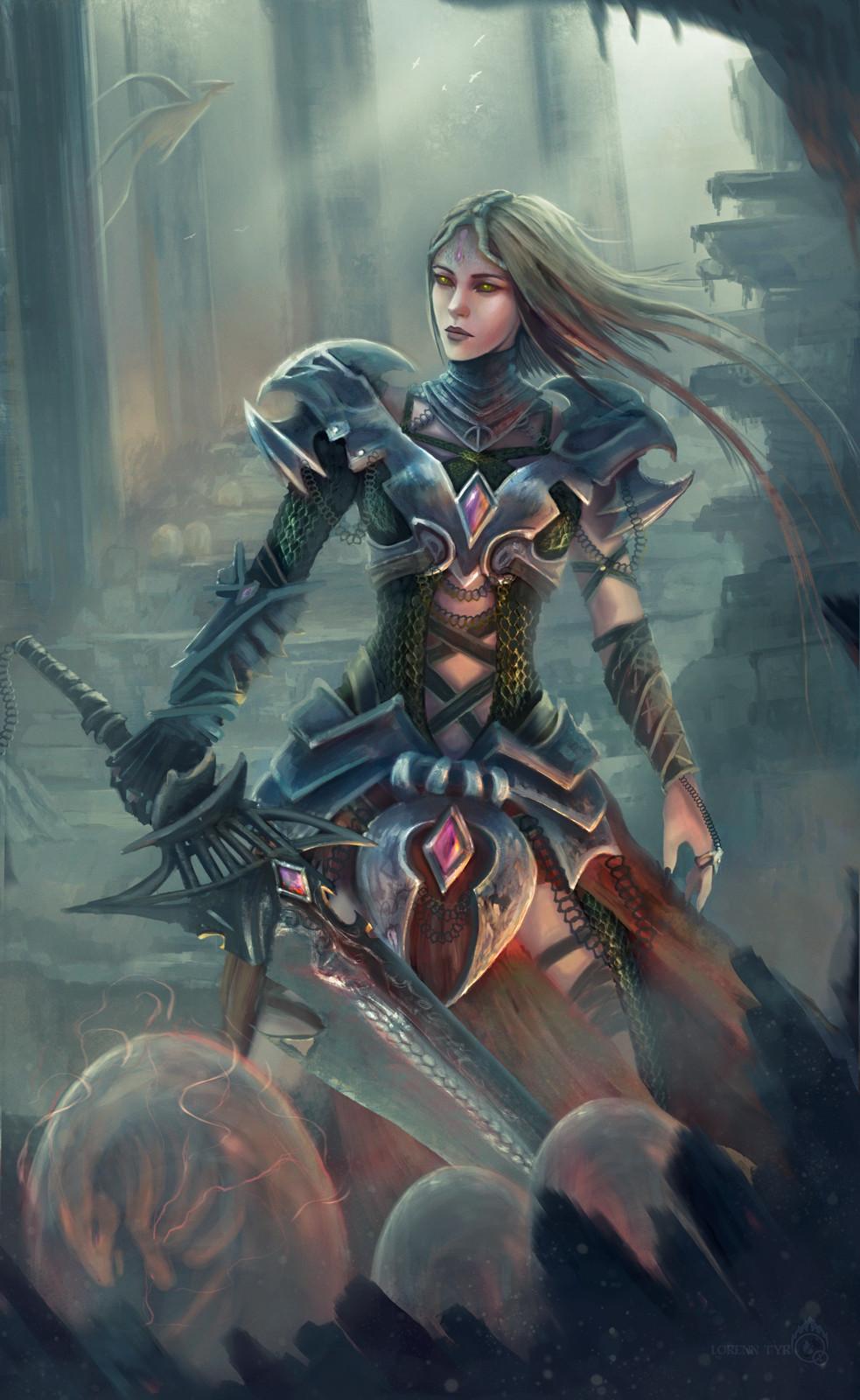 Lorenn tyr guerrera dragonfin2