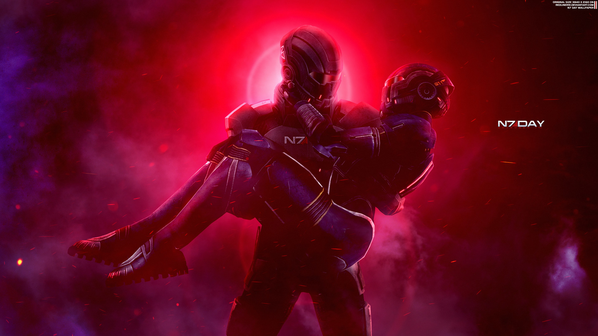 Artstation Together Mass Effect N7 Day Wallpaper 4k Alexander