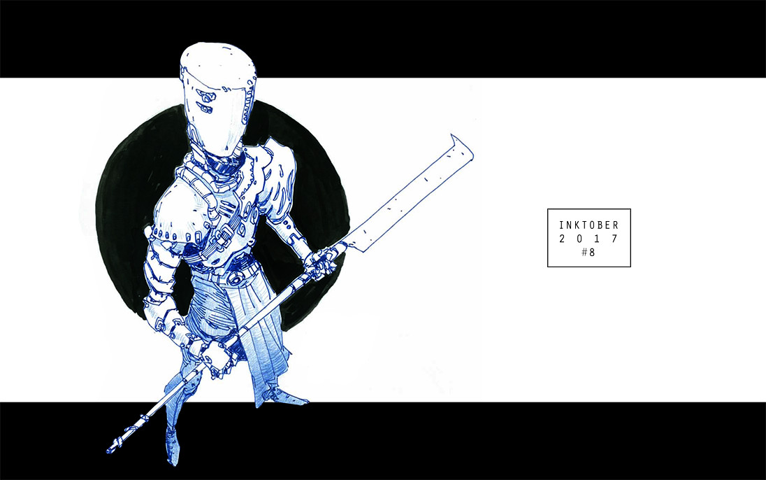 Mathieu chevalier inktober 13