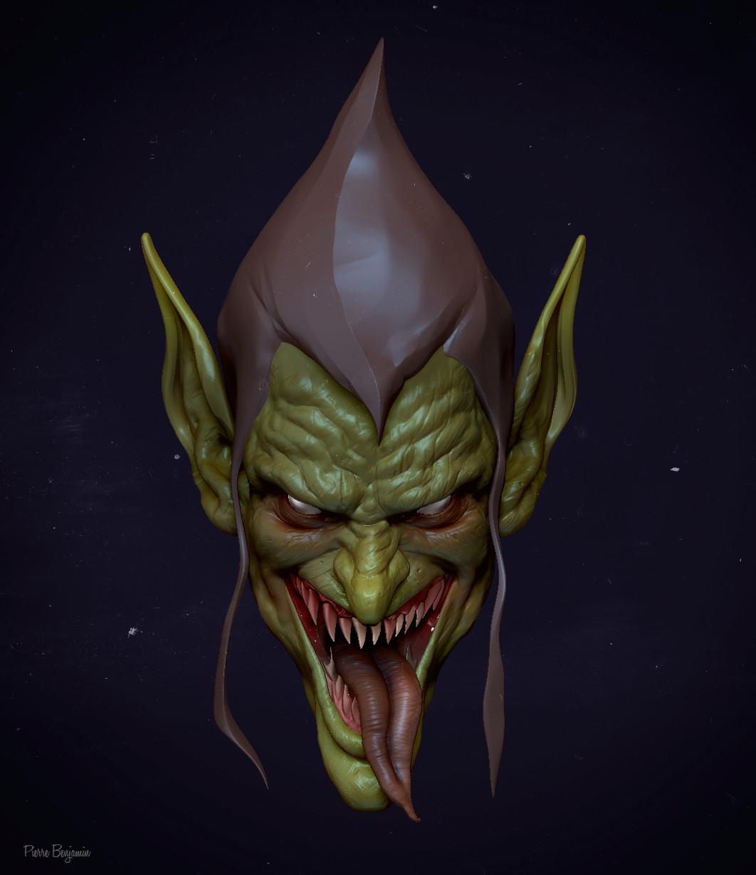 Pierre benjamin new green goblin