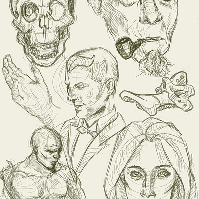 Andrew santos sketchs
