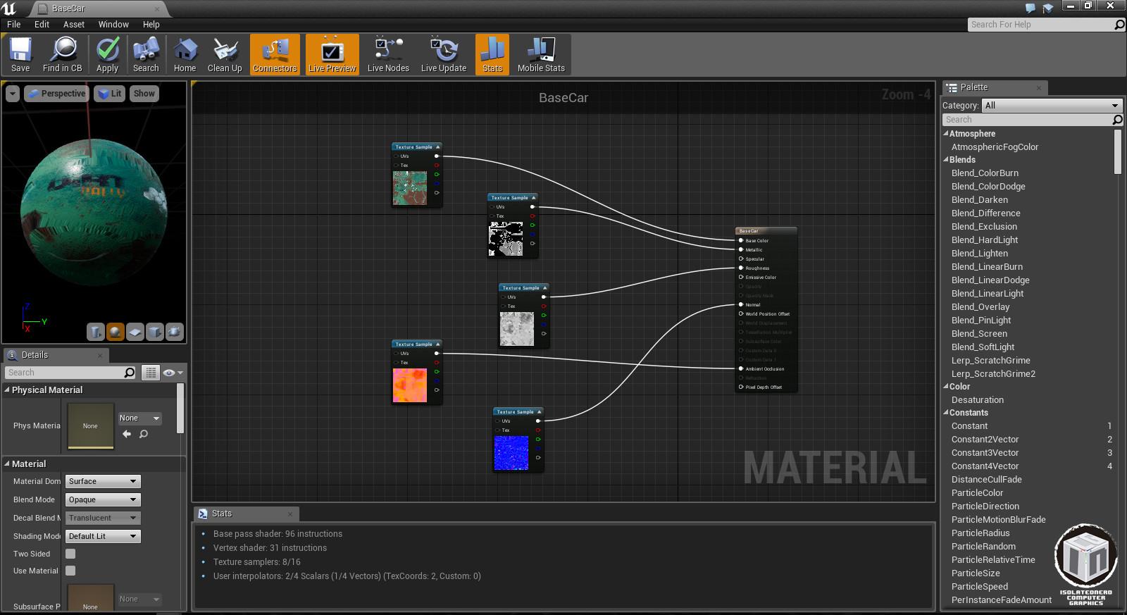 UE4 Material Editor