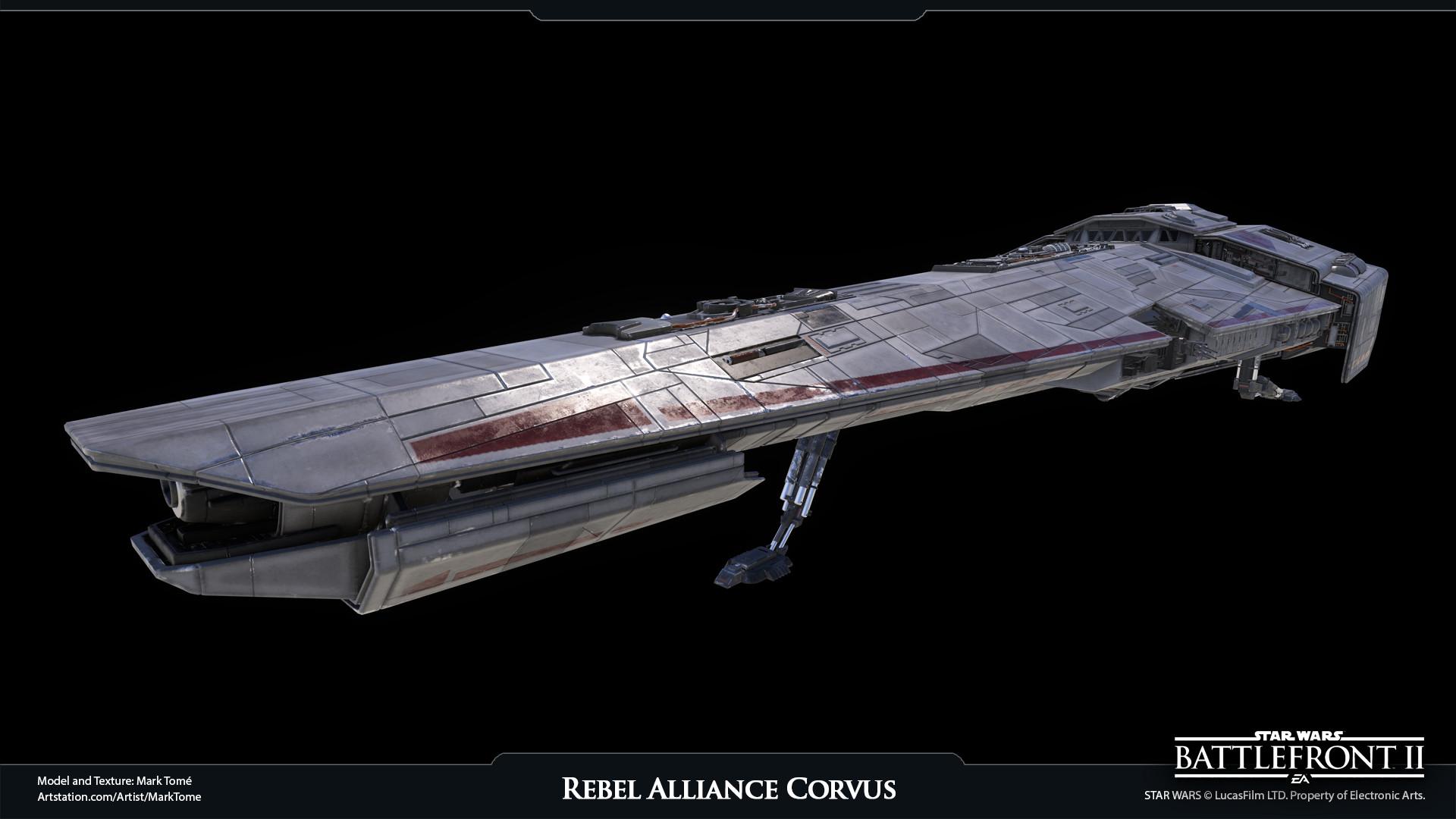 Mark Tom 233 Rebel Alliance Corvus Ship