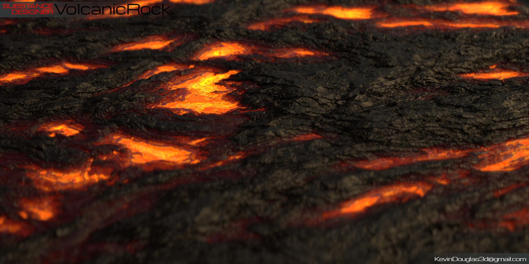 Kevin douglas volcanic rock beauty lava cu