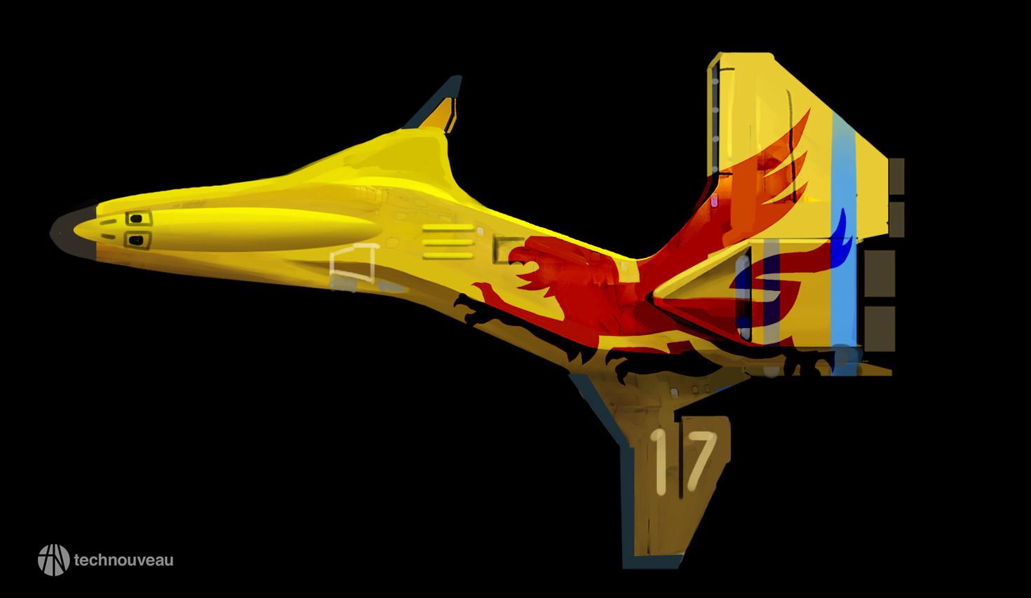 Rasmus poulsen yellow bird top
