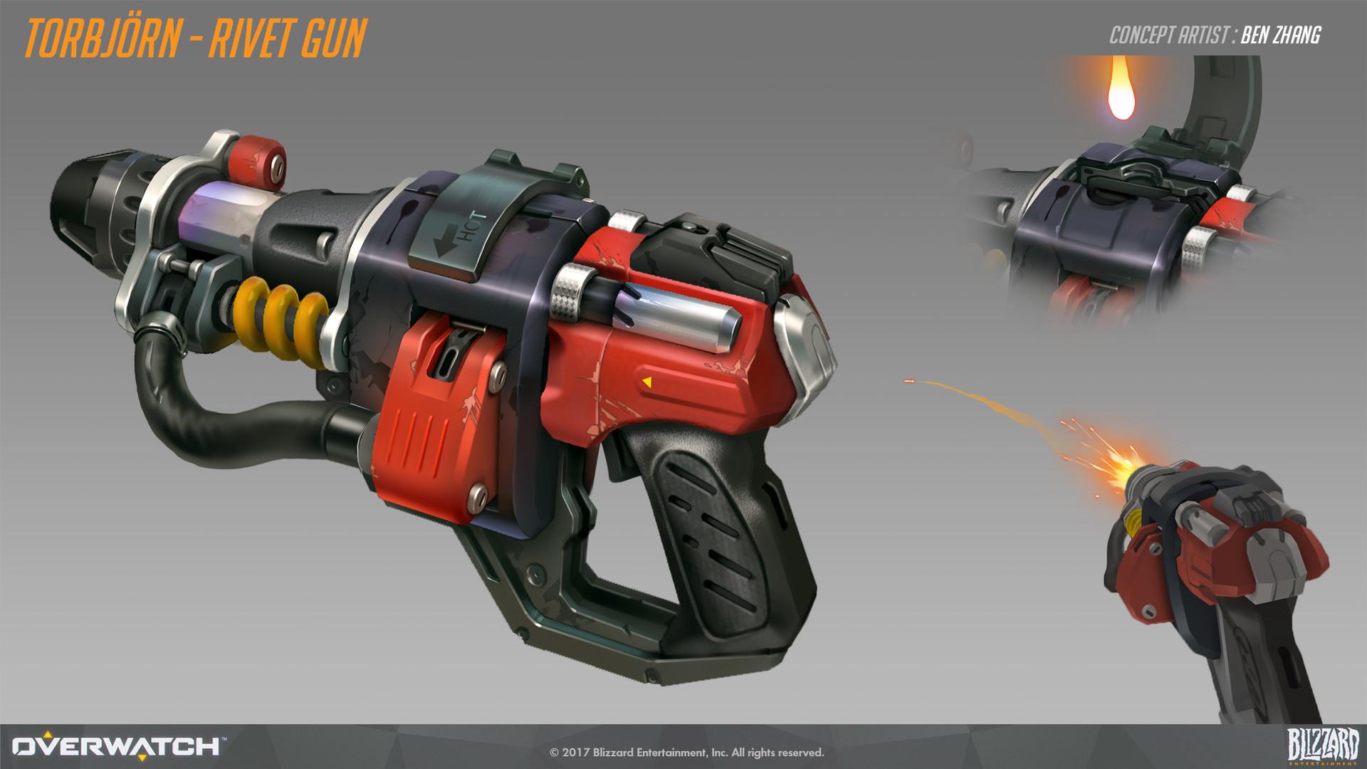 Ben zhang rivet gun concept