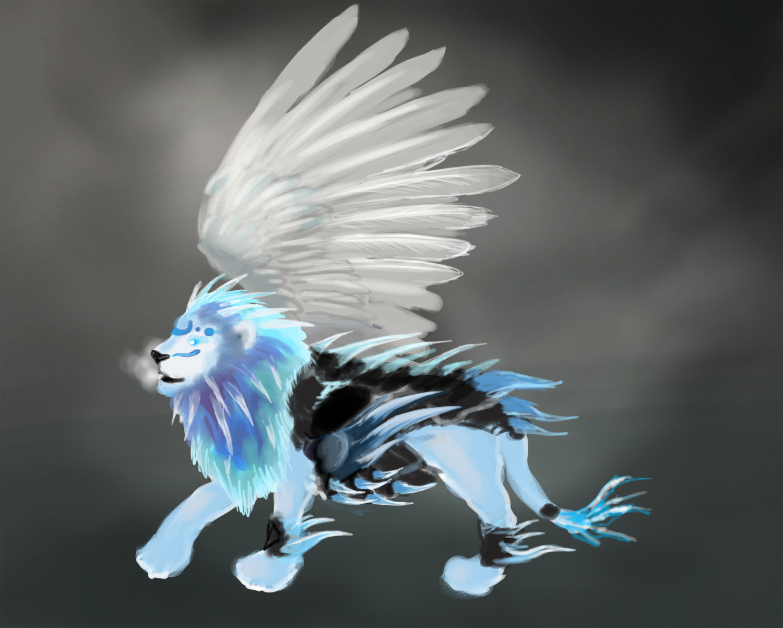 Orm irian lion01
