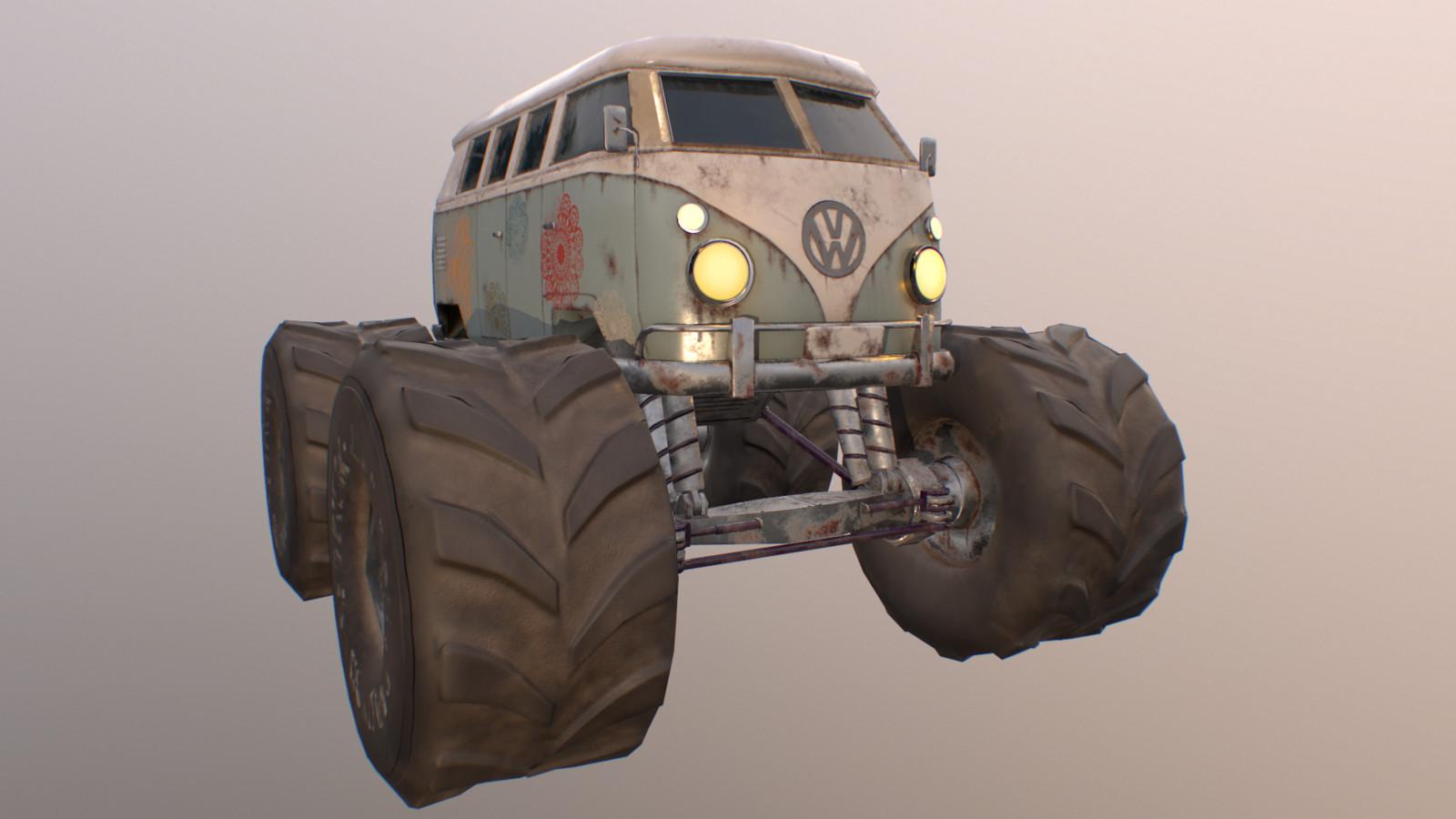 Caravan Monster Truck