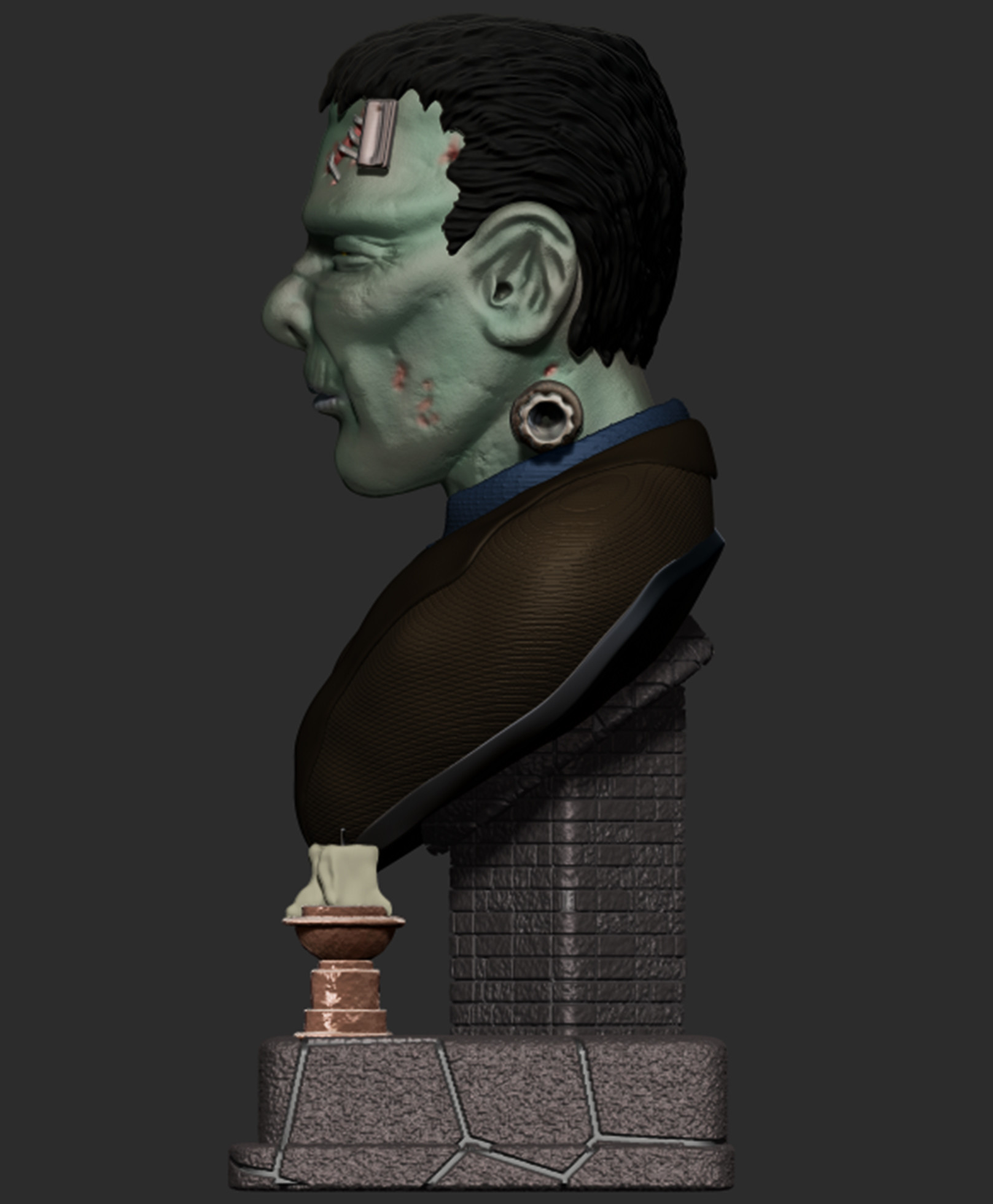 Josh simon frankenstein bust final 2