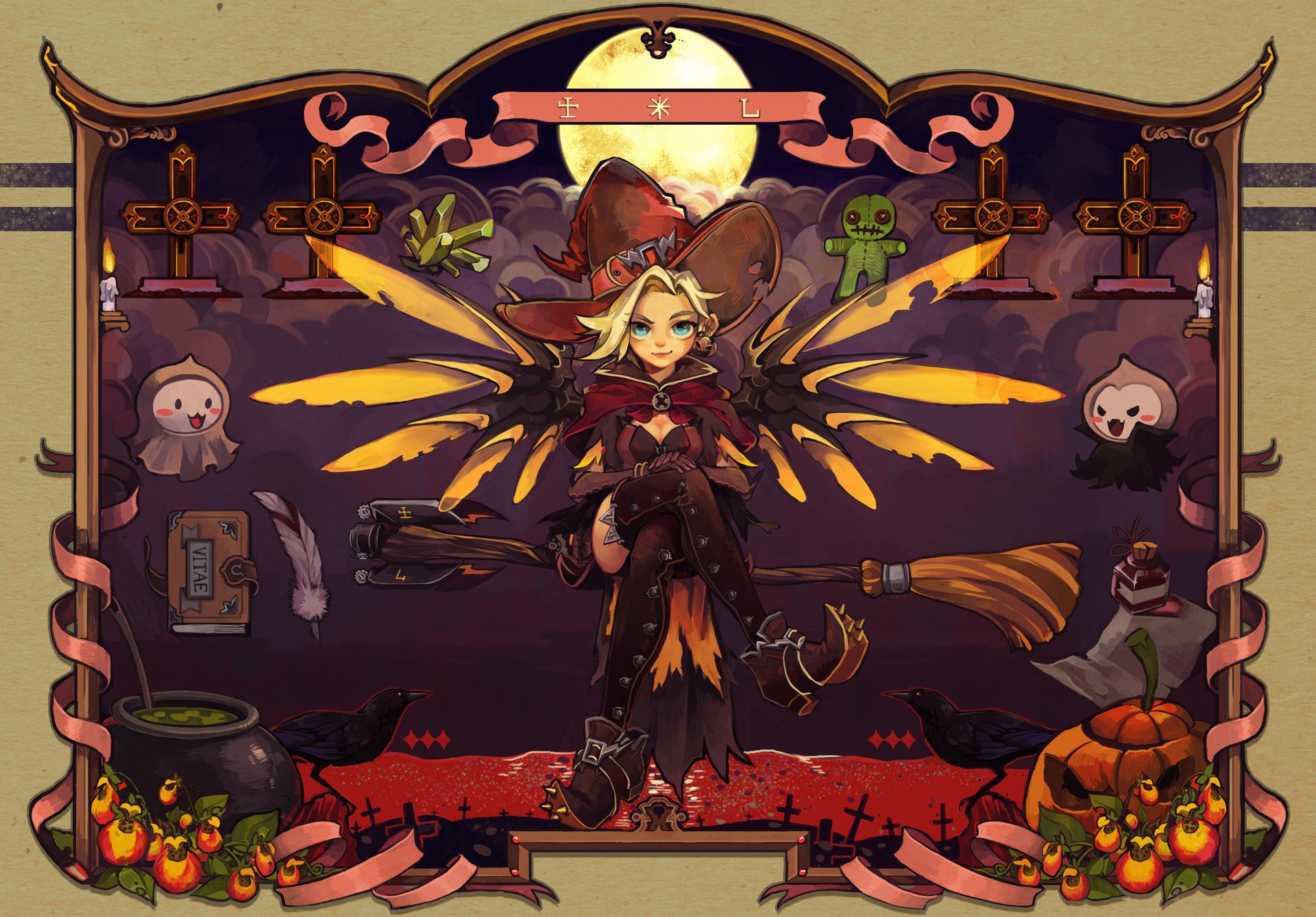 Rye yang mercy halloween
