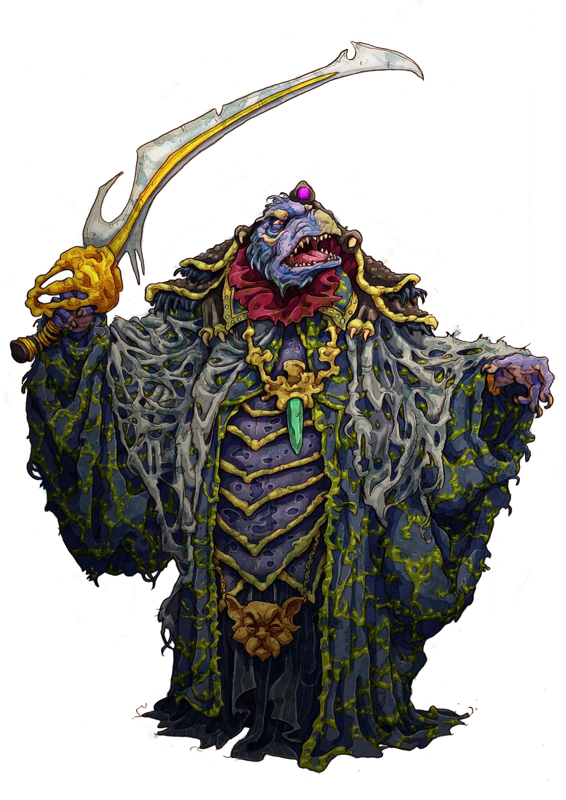 Johnny Fraser Allen The Dark Crystal Boardgame