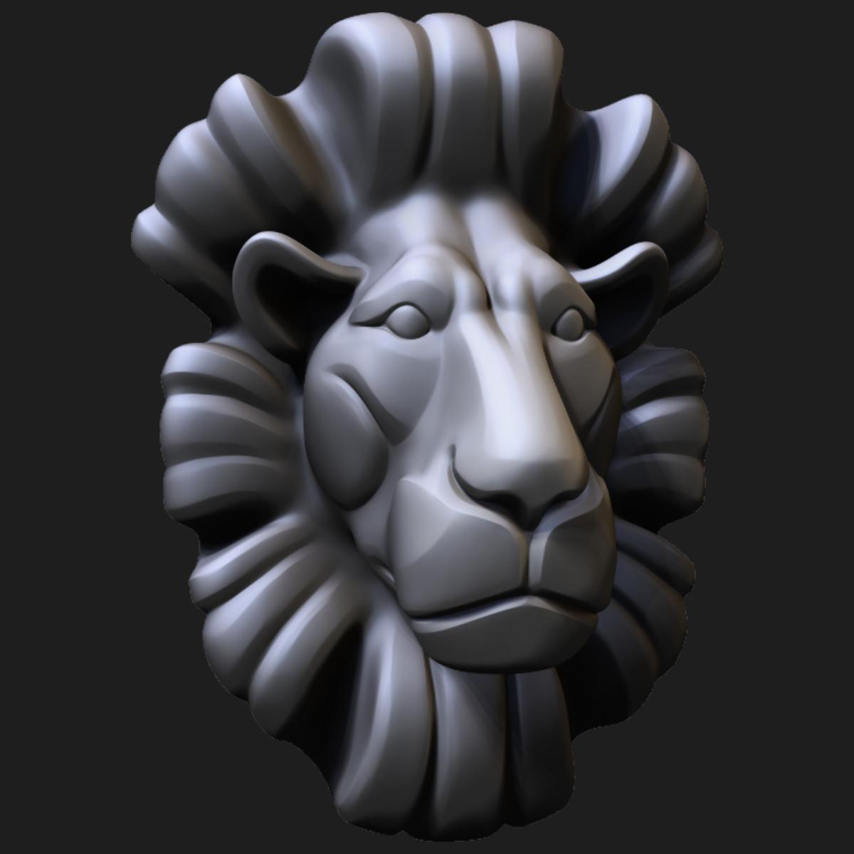 Dian mozokov lionbust