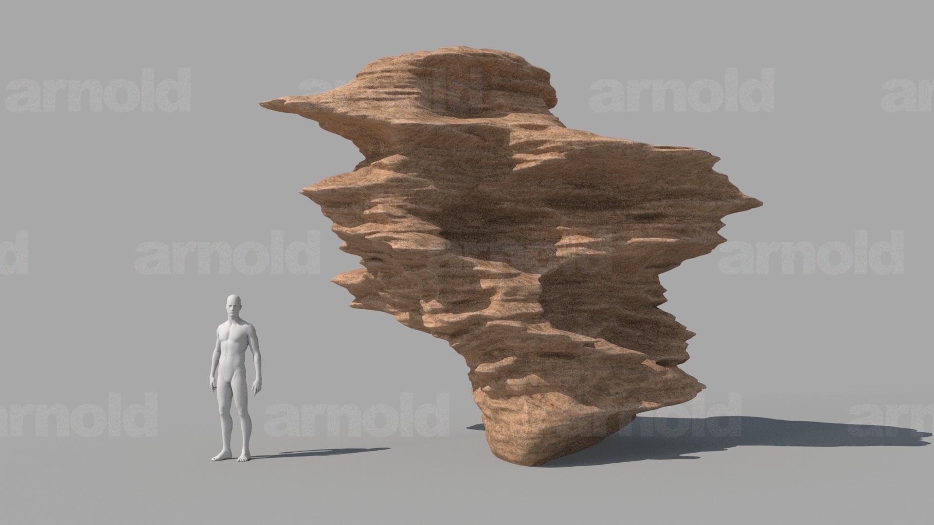 Cgmonkeyking rock b sphere test01