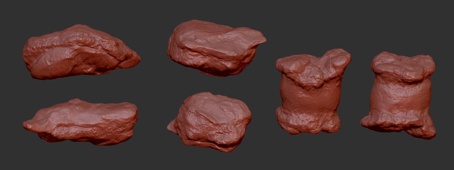 Rock props Sculpting