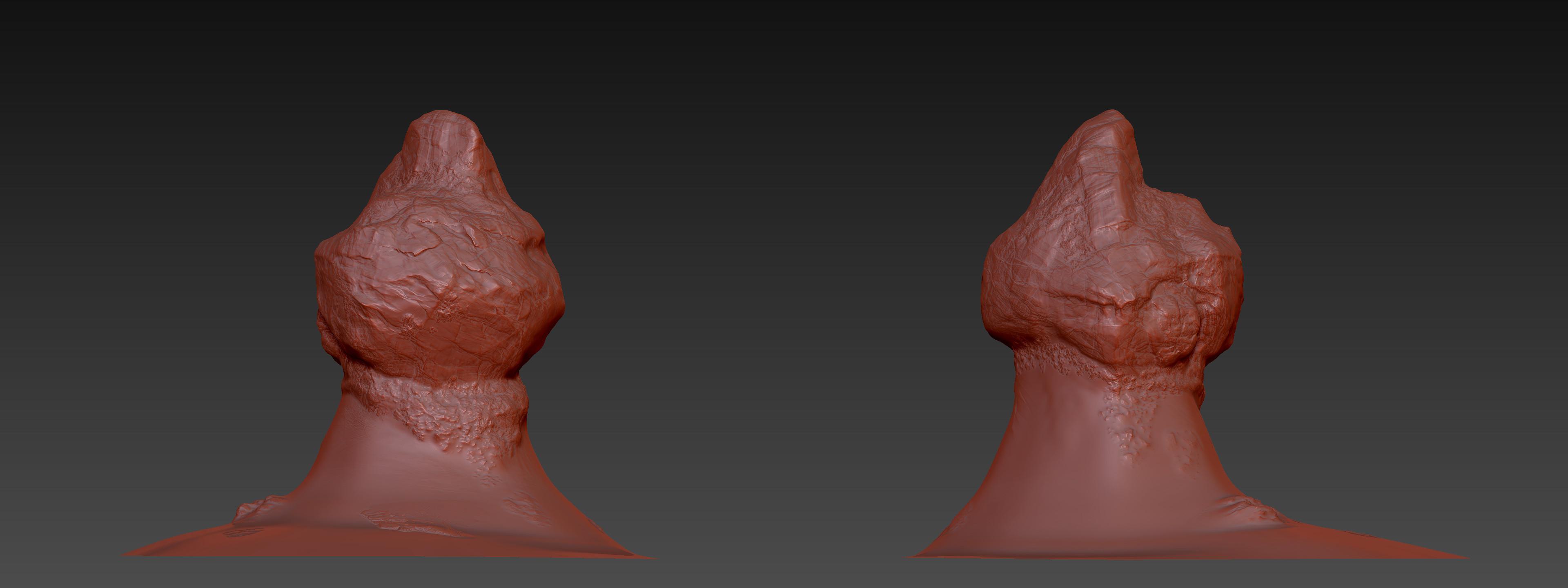 Rock1 Sculpting