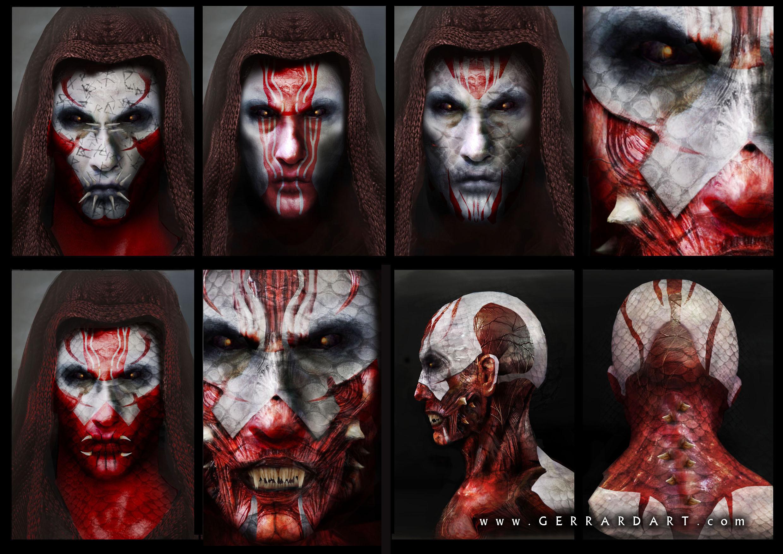 THE WRAITH head designs