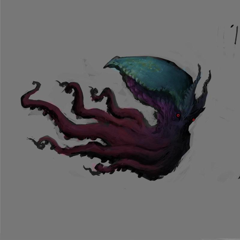 Rafael vallaperde evil octopus by rafajija