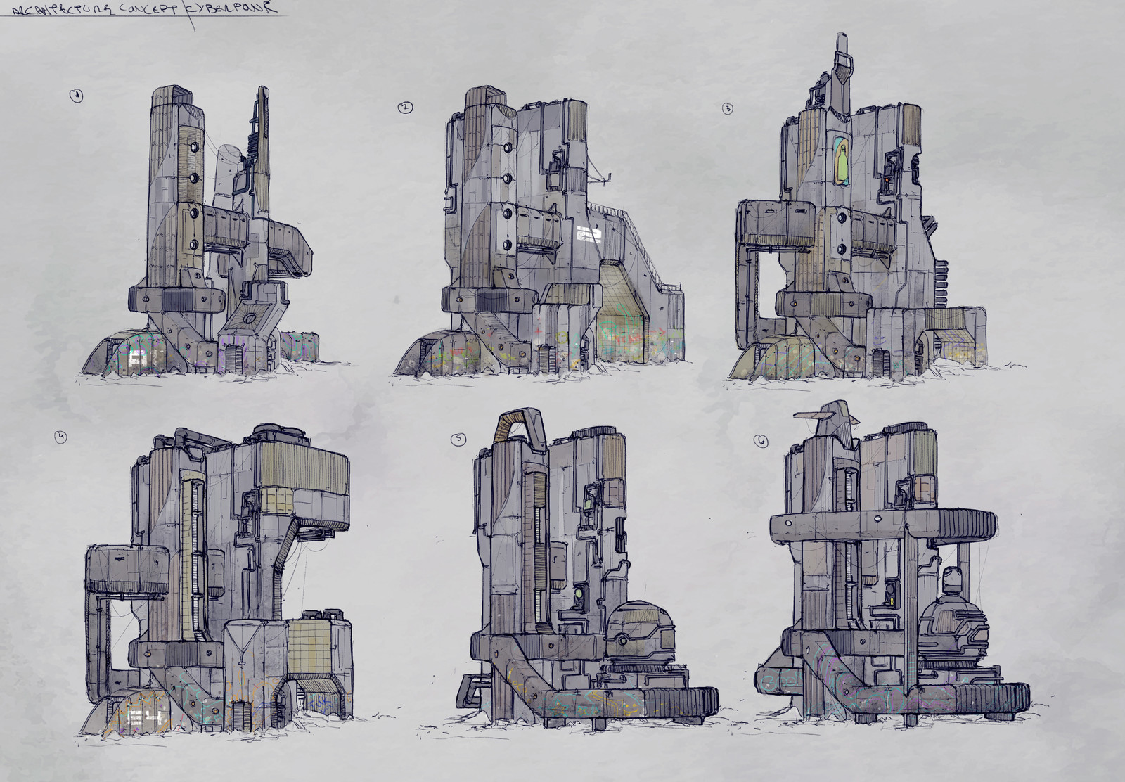 City structures concepts