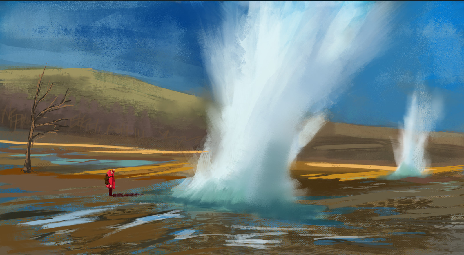 Geyser Study and Brush efficiency