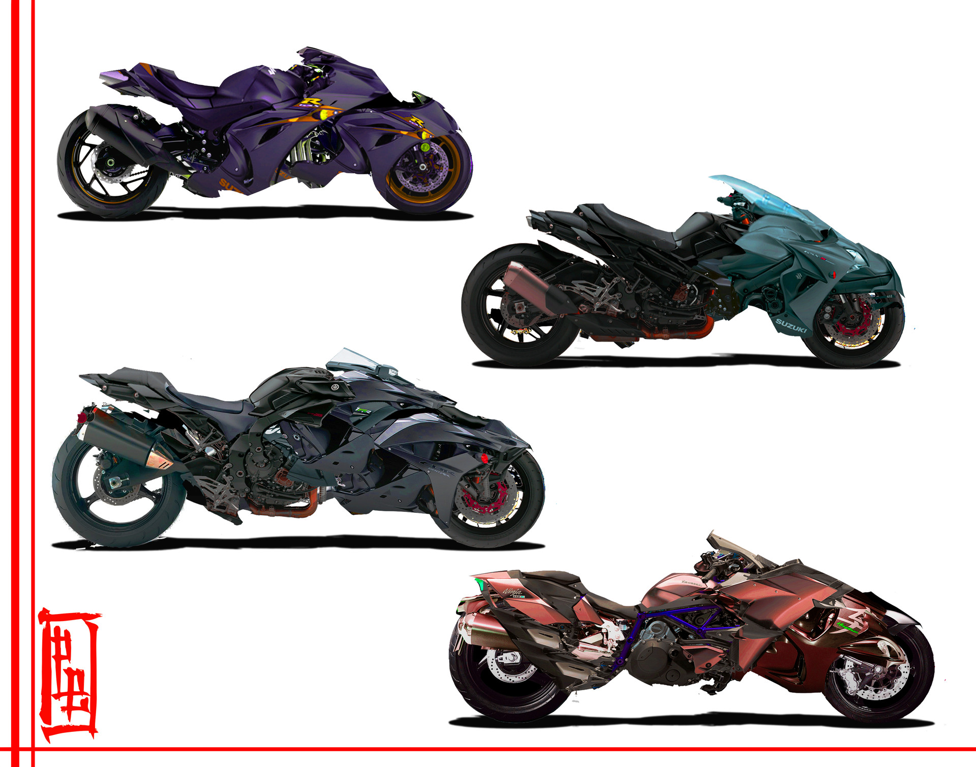 ArtStation - Cyberpunk Vehicle Designs, Patrick Barron