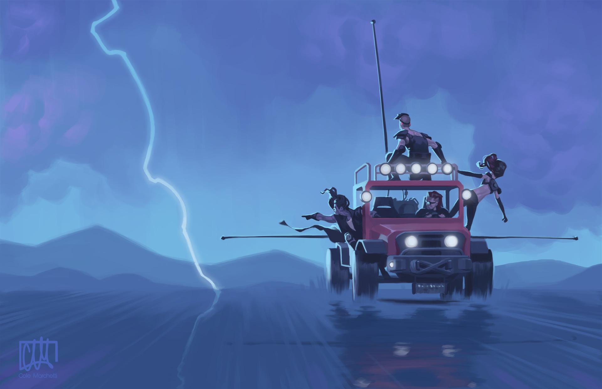 Cole marchetti lightning hunters reduex 2000
