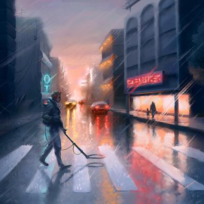 Matt akin city rain