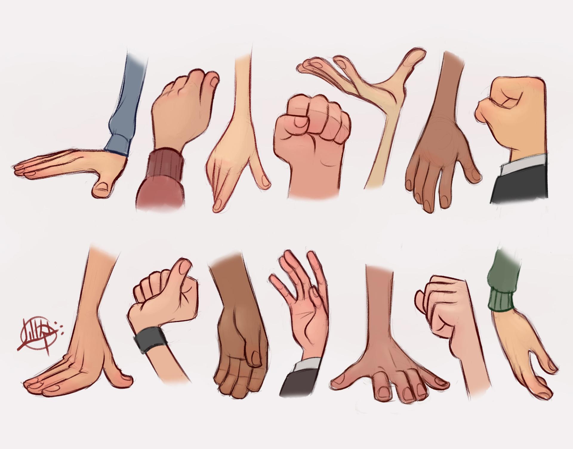 Luigi lucarelli hands