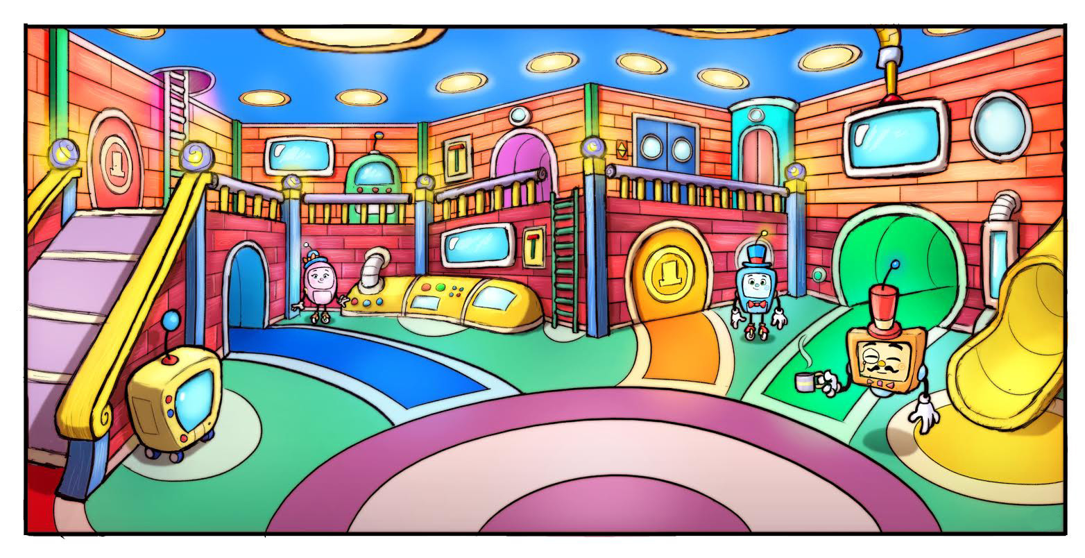 Hat Kid's Spaceship - Main Room Hub