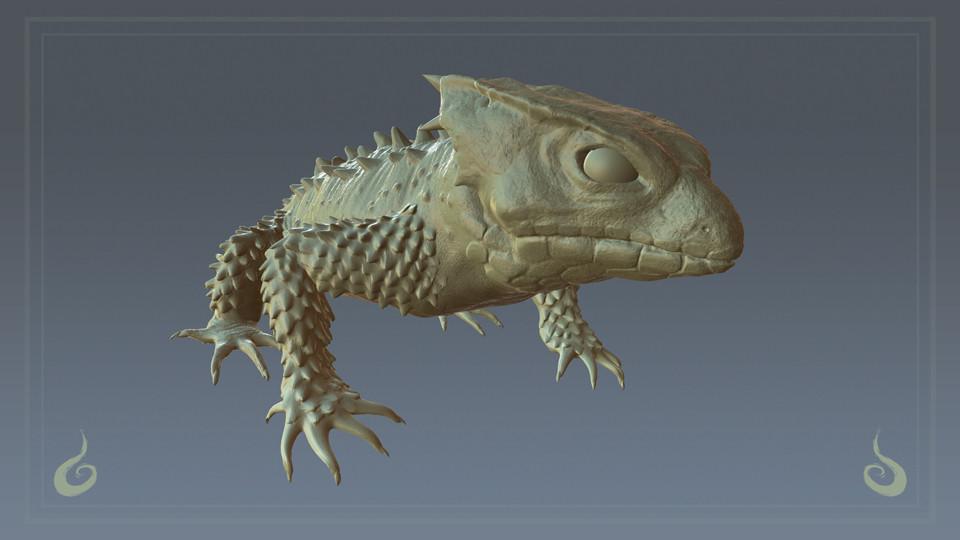 Tiny Crocodile/Dragon Thing