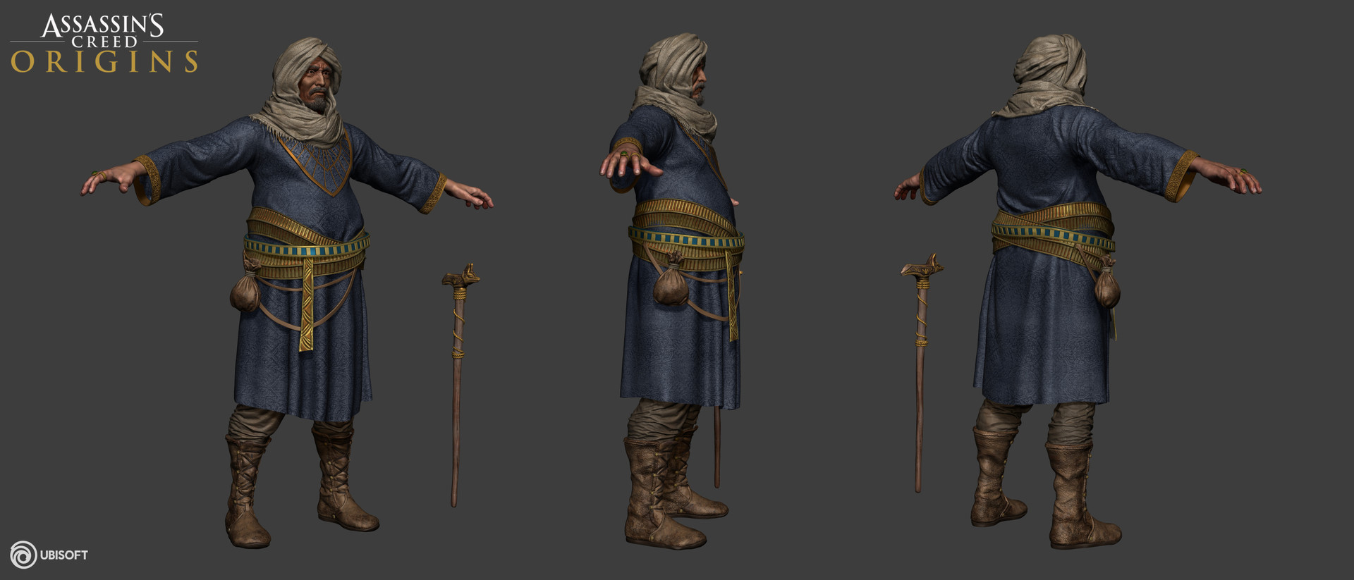 Artstation Characters Prototypes Made For Assassin S Creed