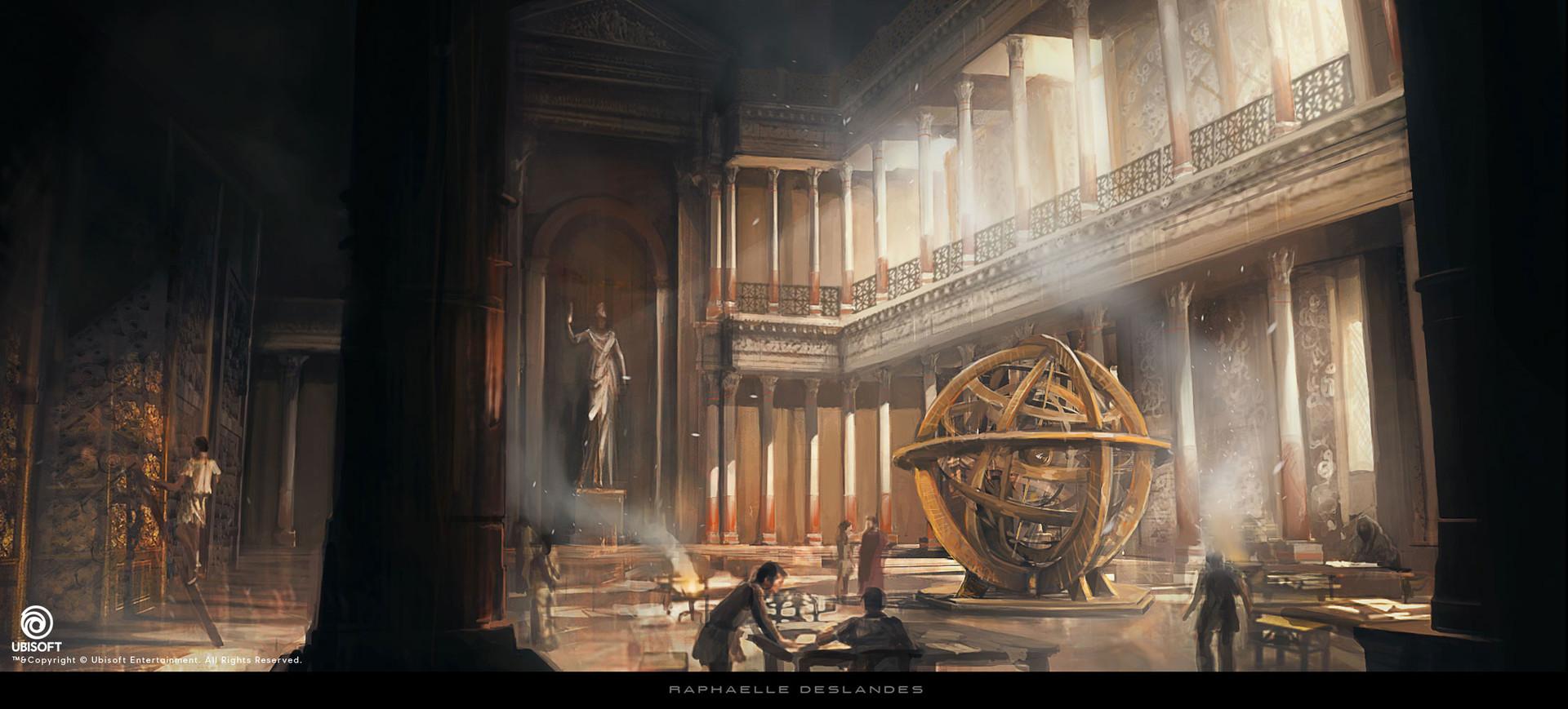 Raphaelle Deslandes Assassin S Creed Origins