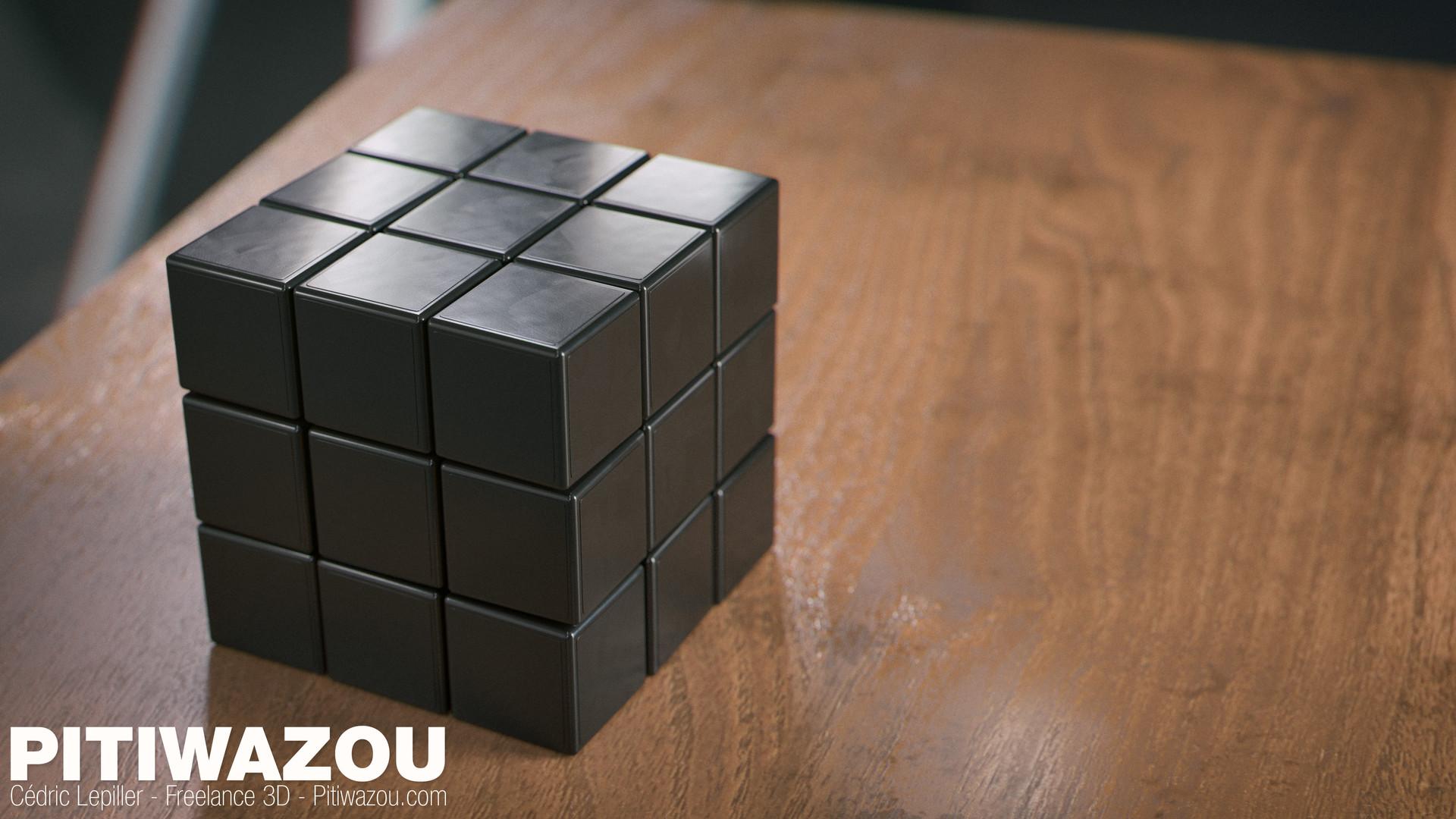 Cedric lepiller cedric lepiller rubiks cube 003 4k