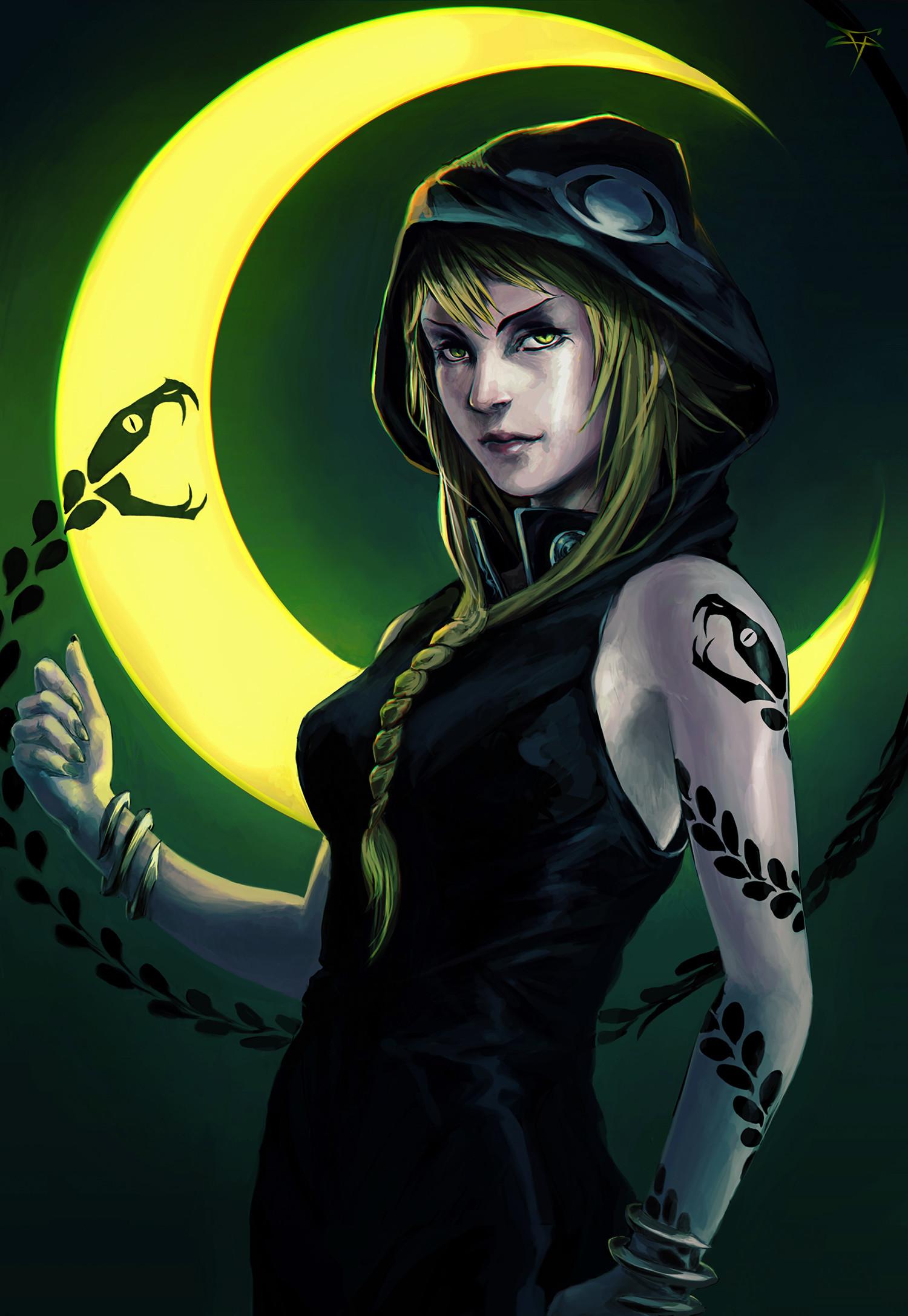 Medusa Souleater Stencil By Terrorsmile Soul Eater Medusa Anime