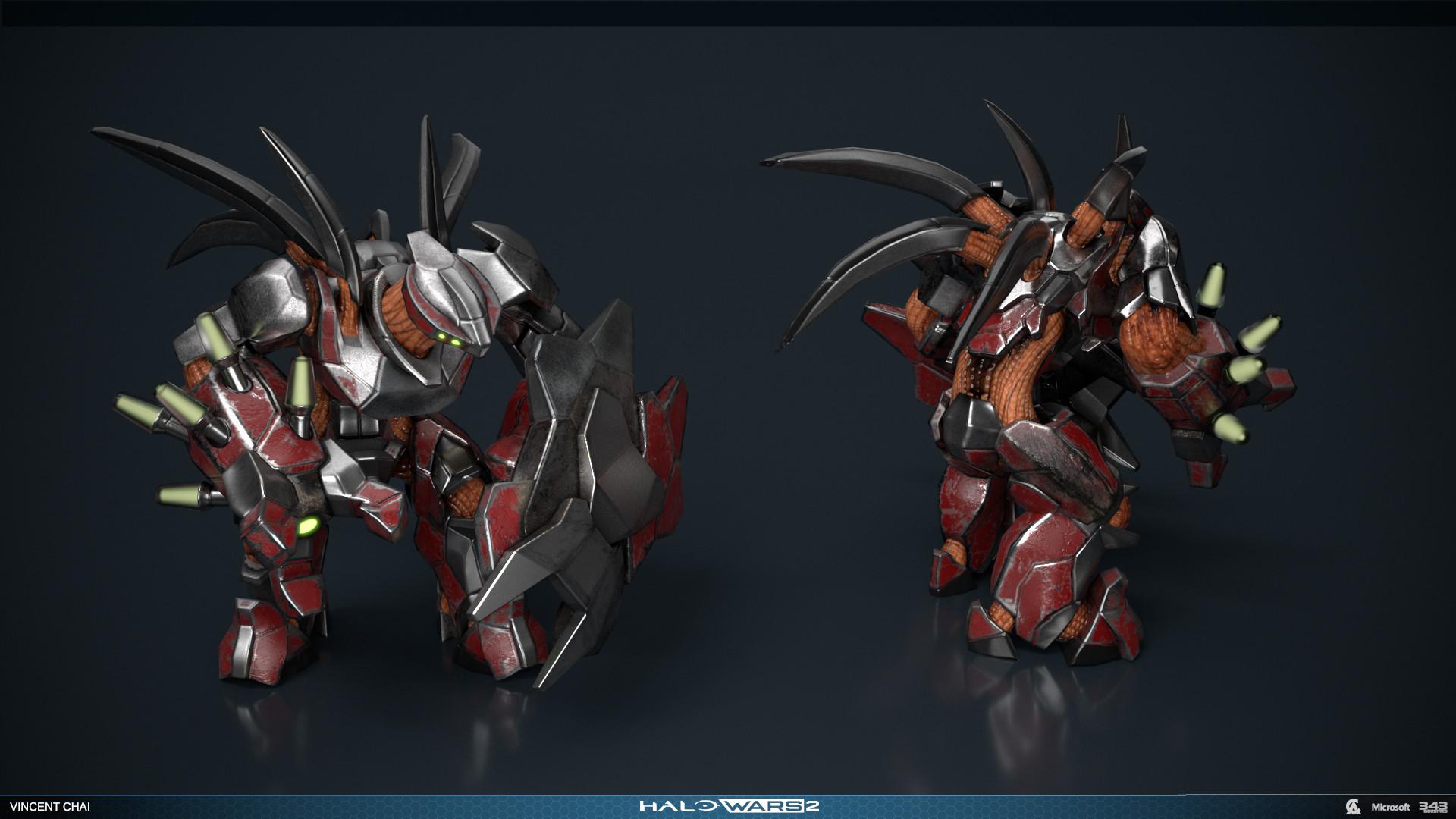 ArtStation - Halo Wars 2 Units Dump, Vincent Chai