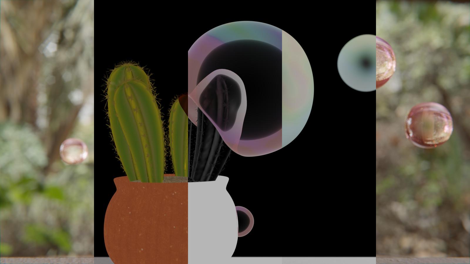 Diffuse/Gloss/AO Passes