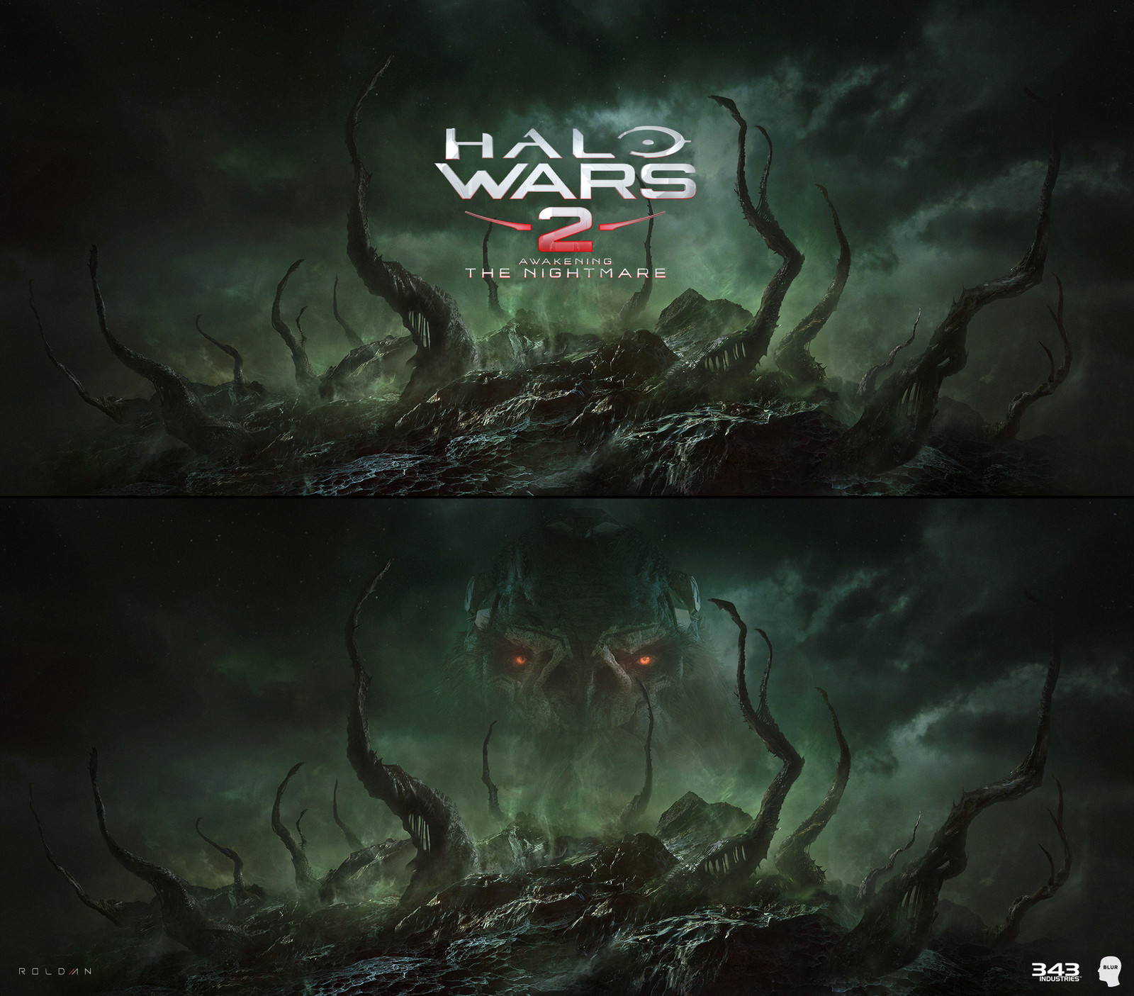 HALO WARS 2 - FLOOD BG