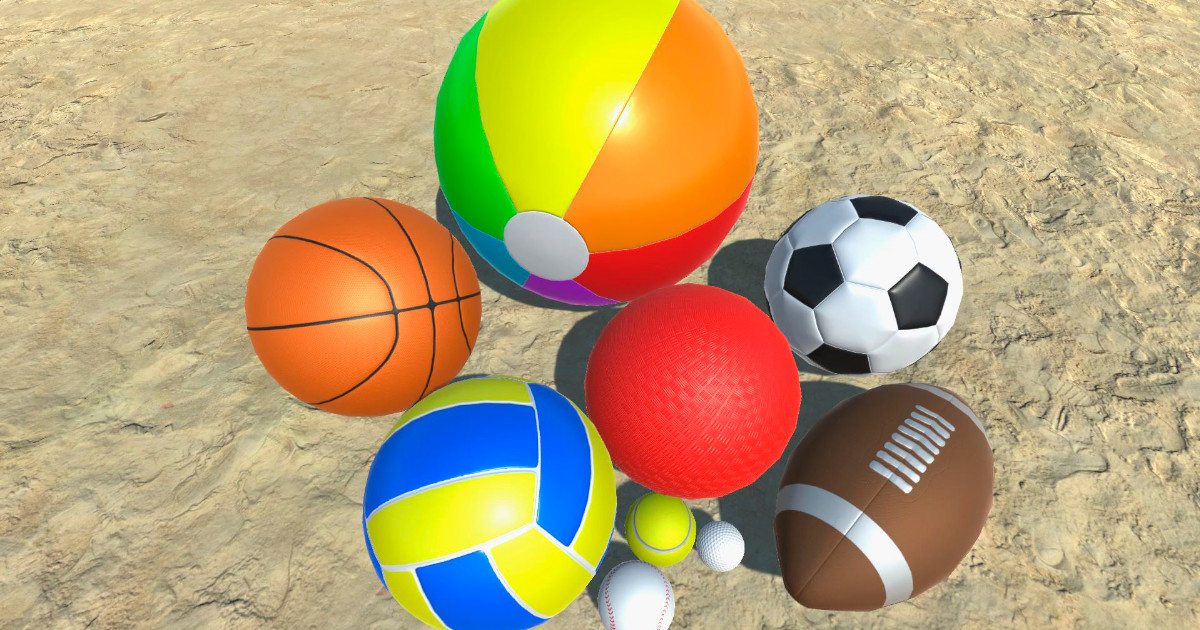 ArtStation - 3D Balls Collection (for Unity Asset Store