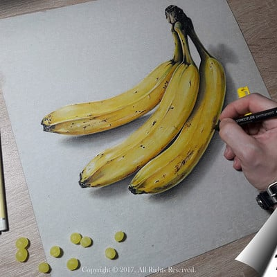 Mihai alin ion drawing bananas mihaialinion post