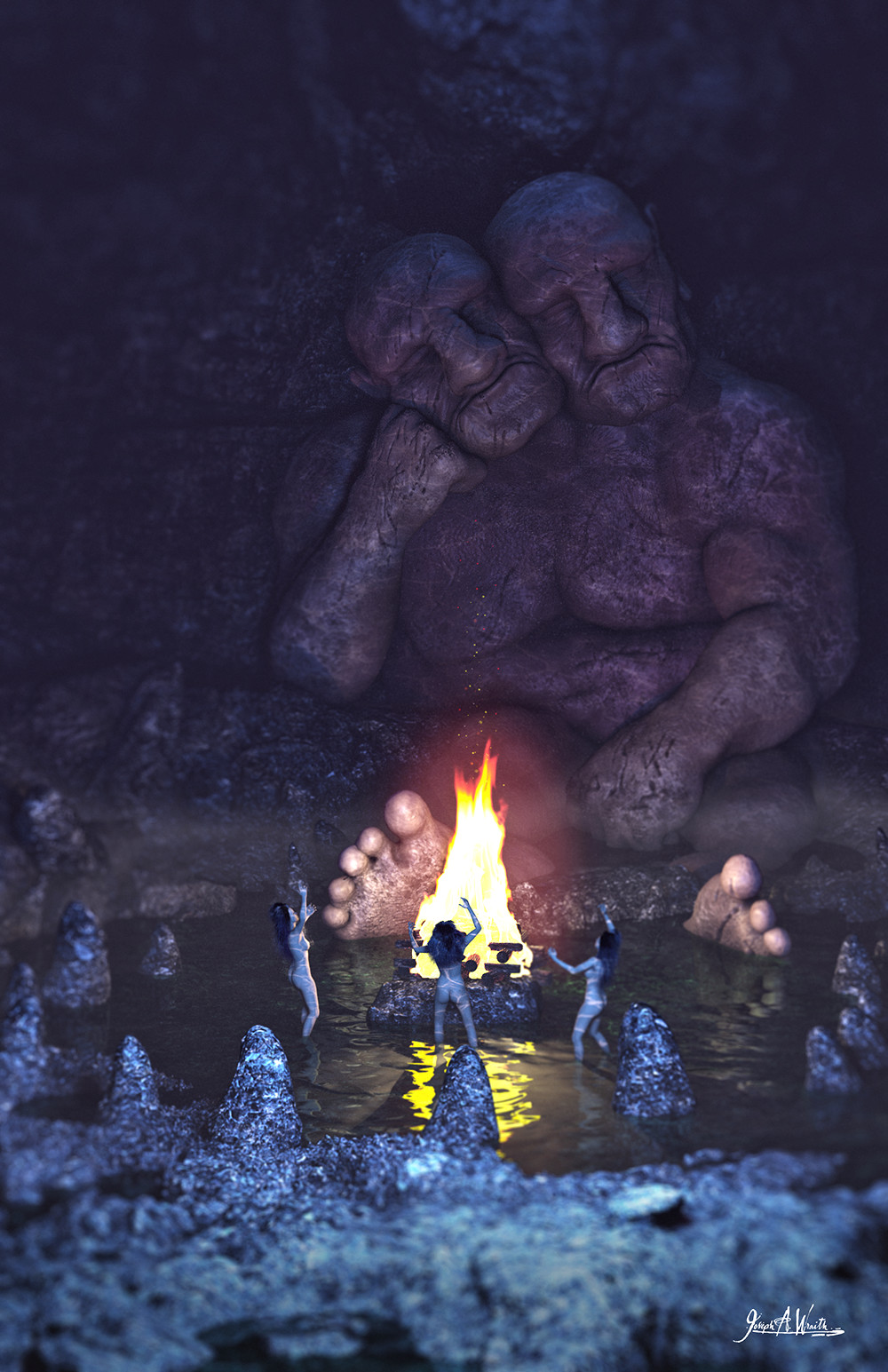 Two Headed Cavern