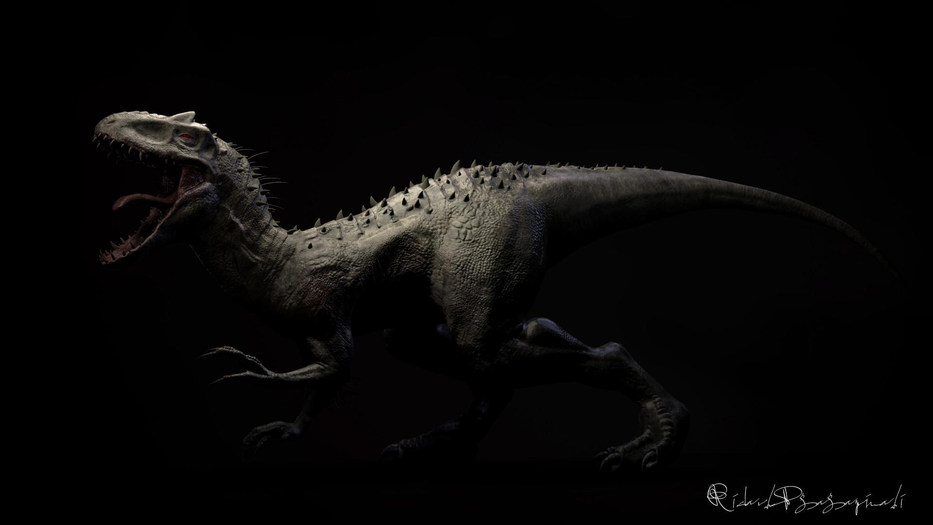 ArtStation - INDOMINUS REX (Jurassic