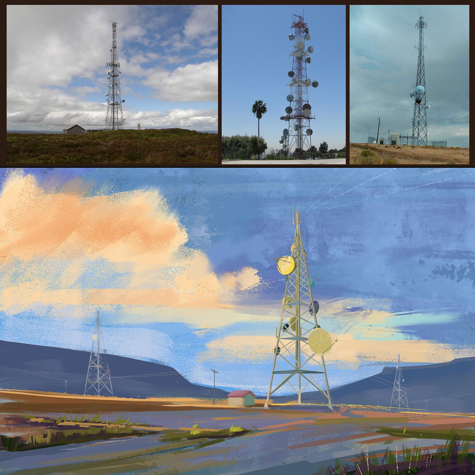 Radio Tower study