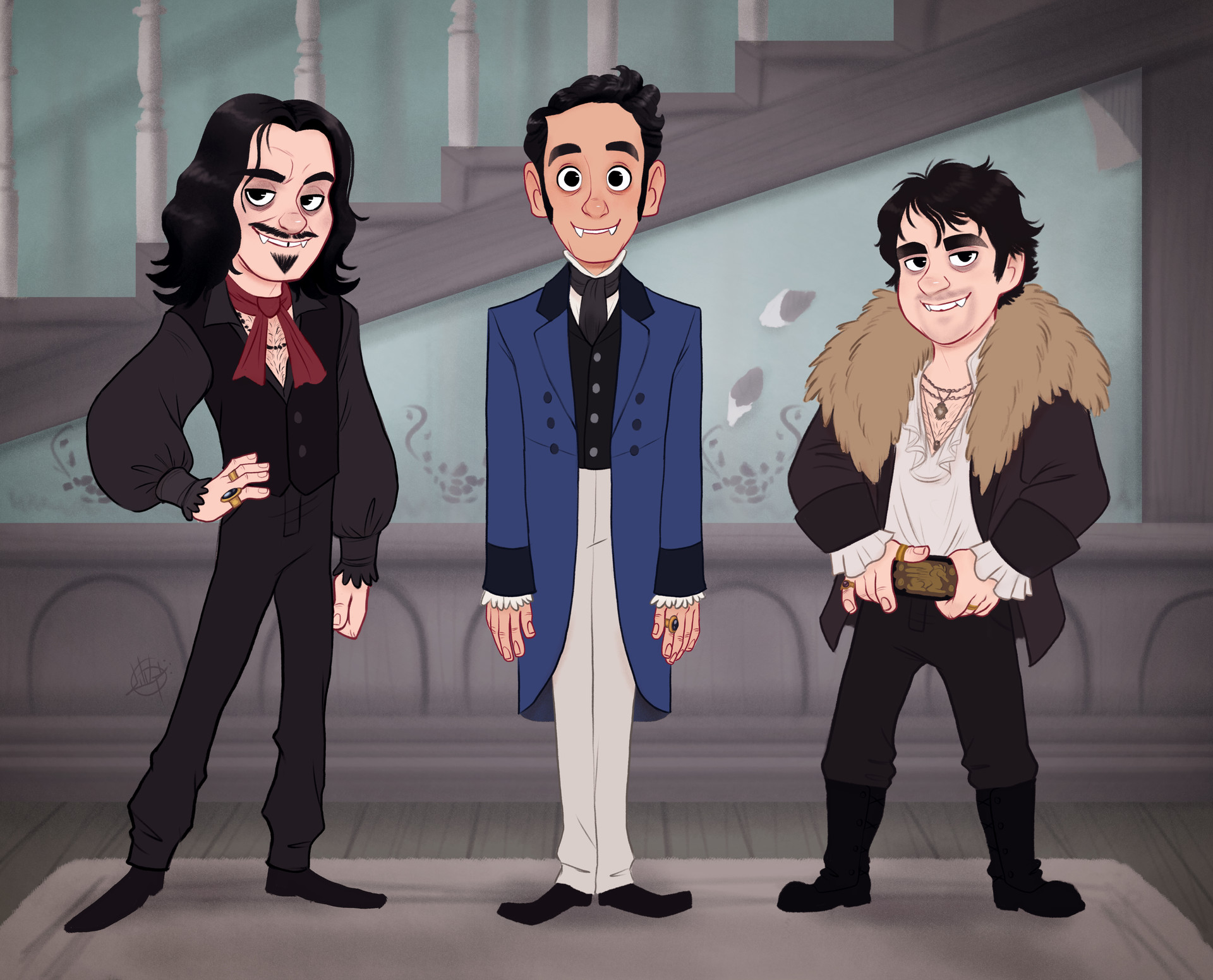 Luigi lucarelli what we do in the shadows 2