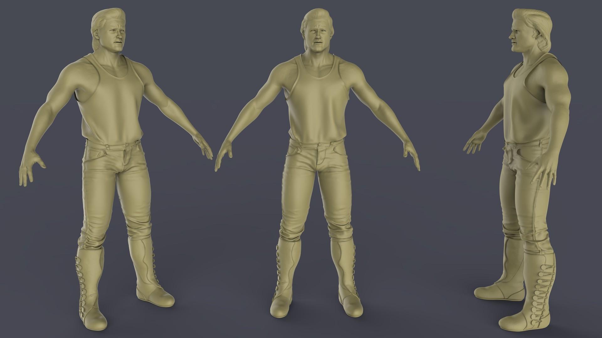 High resolution model