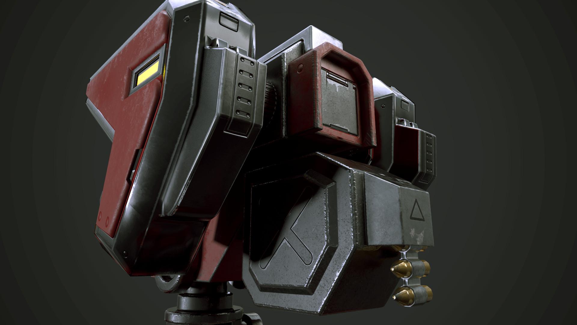 Rakan khamash turret 2