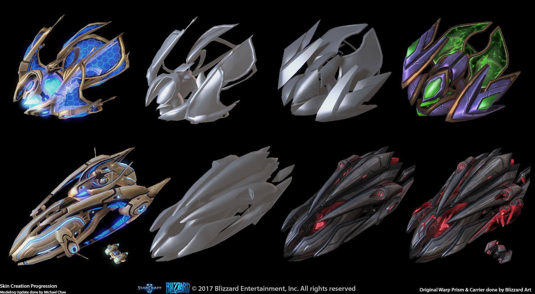 ArtStation - StarCraft 2, Extra Art Works: Concept & Premium