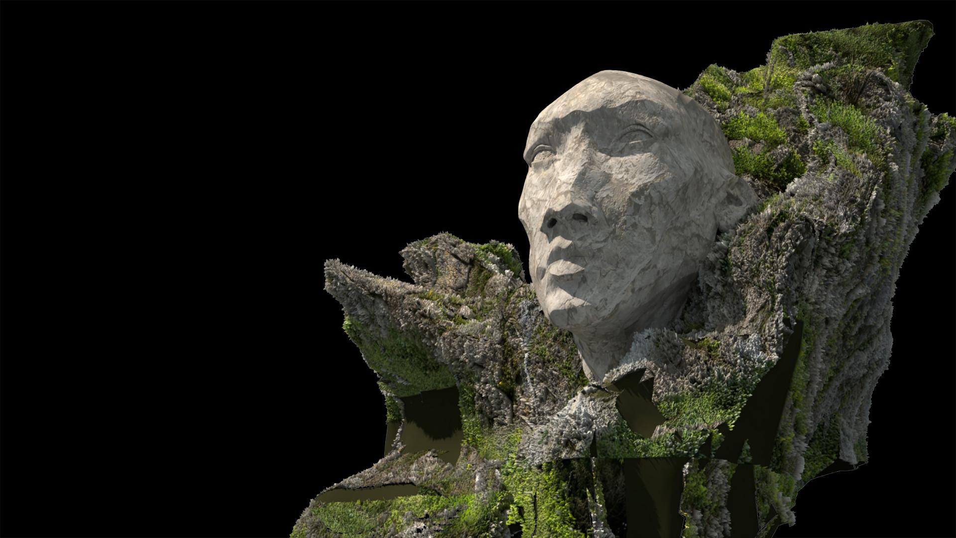 Quentin mabille hex statue rendu